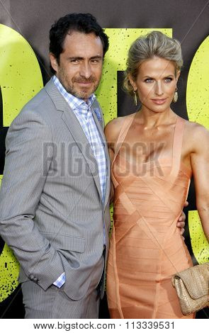 LOS ANGELES, CALIFORNIA - June 25, 2012. Demian Bichir at the Los Angeles premiere of 'Savages' held at the Mann Village Theatre, Los Angeles.