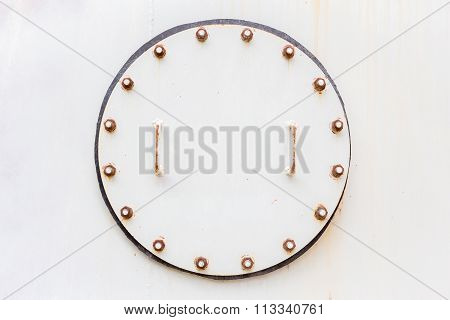 Steel Lid Background