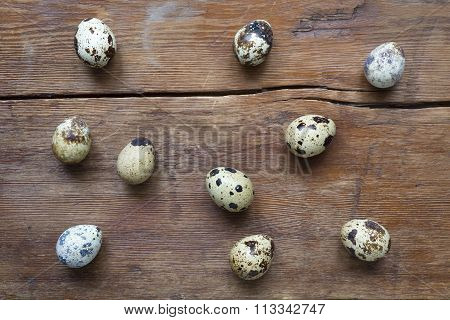 Many Quail Eggs