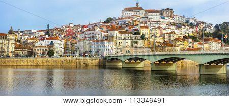 landmarks of Portugal - beautiful Coimbra town