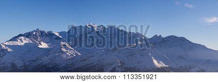 Combins Winter Panorama