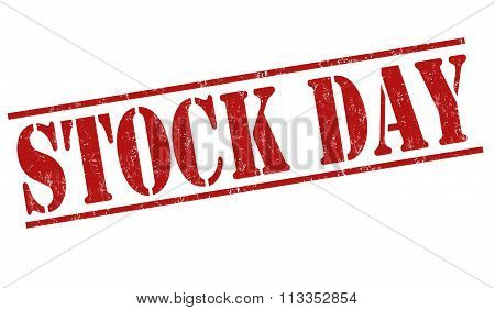 Stock Day Stamp