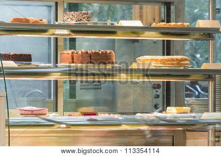 Cake In A Glass Case