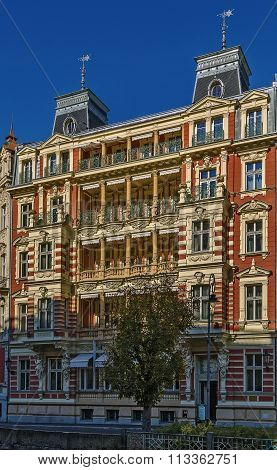 Building In Karlovy Vary, Czech Republic