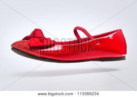 Children's Red Shoe