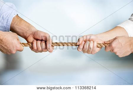 Rope Pulling.
