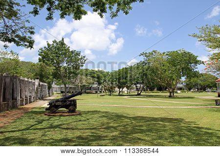 Plaza de Espana in Guam Micronesia