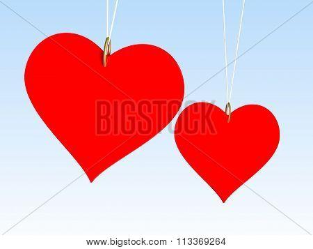 Hearts in sky 3