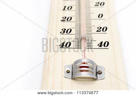 Household alcohol thermometer