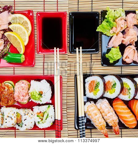 Sushi Set For Two People
