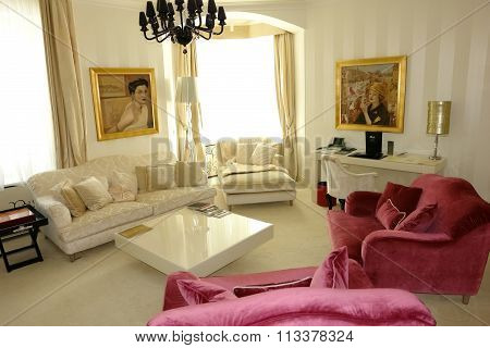 Room Interior With Pictures.