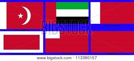 United Arab Emirates Sub-national flags