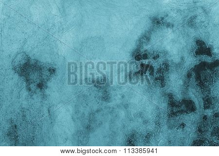 Abstract Background With Stains Of Blue Color