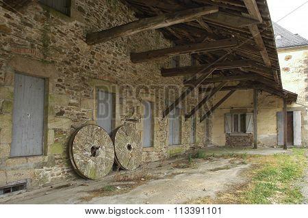 La Roche-bernard (brittany): Farm