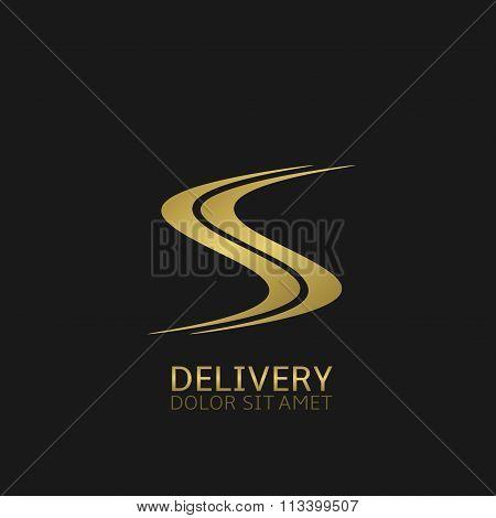 Delivery logo icon
