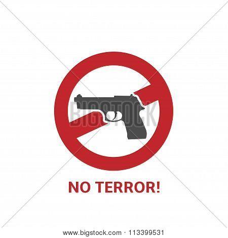 No terror icon