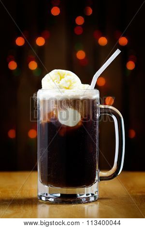 Tasty Root Beer Float