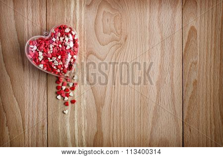 Wooden Background Holiday Background