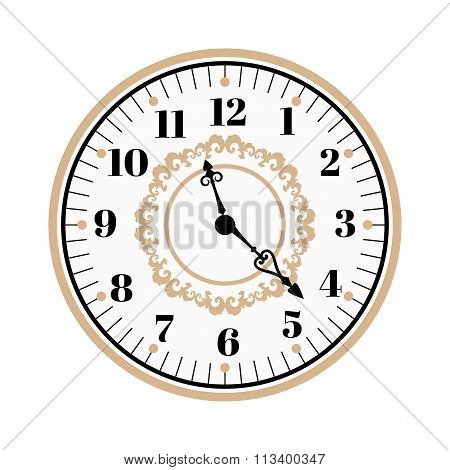 Clock watch alarms vector icons illustration