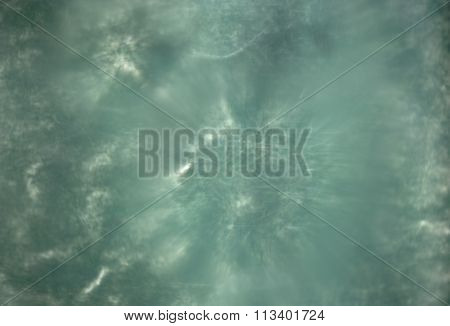 Vintage water blurred abstraction greenish white color