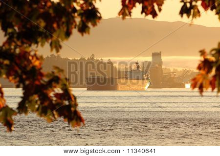 Burrard Inlet Freighter, Vancouver