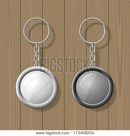 Key chain pendants mock up