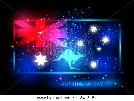 Australia Day Card Design