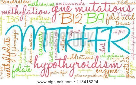 Mthfr Word Cloud