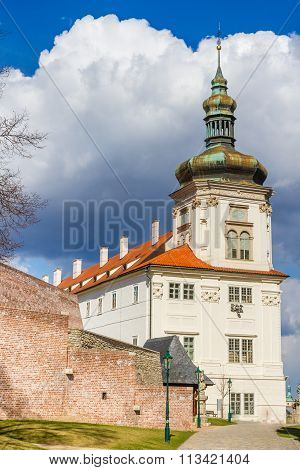 Tower Of Jesuit College-kutna Hora,czech Republic
