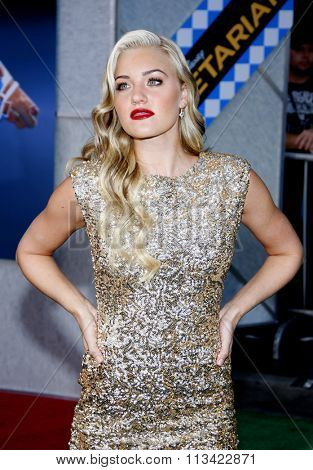 AJ Michalka at the Los Angeles Premiere of