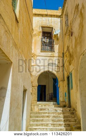 The Narrow Staircase