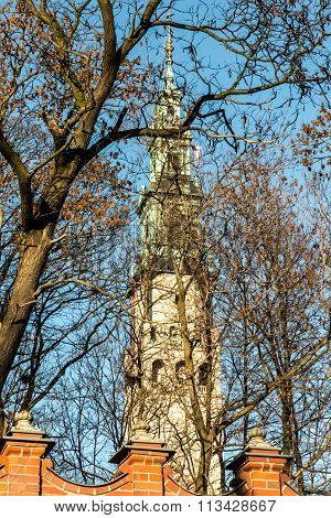 Tower Of The Shrine Of Jasna Gora In Czestochowa