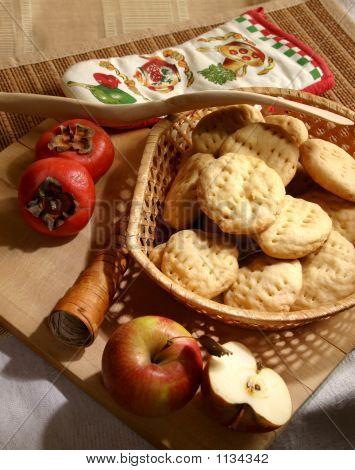 Alimentos de pastelería rural.