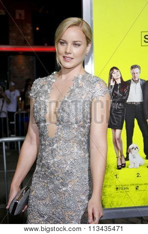 LOS ANGELES, CALIFORNIA - October 1, 2012. Abbie Cornish at the Los Angeles premiere of 'Seven Psychopaths' held at the Mann Bruin Theatre, Los Angeles.