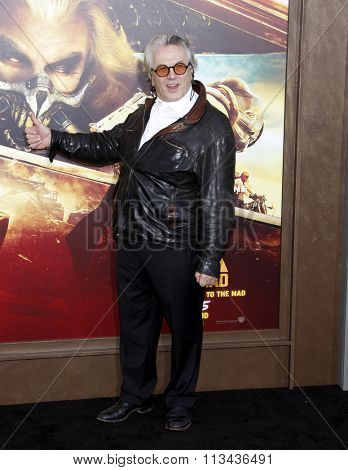 Director George Miller at the Los Angeles premiere of