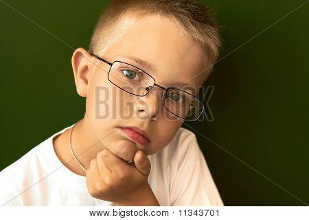 Pensive Pupil