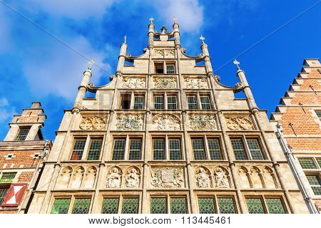 historic building in Ghent, Belgium