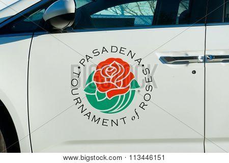 Pasadena Tournament Of Roses Association Vehicle And Logo