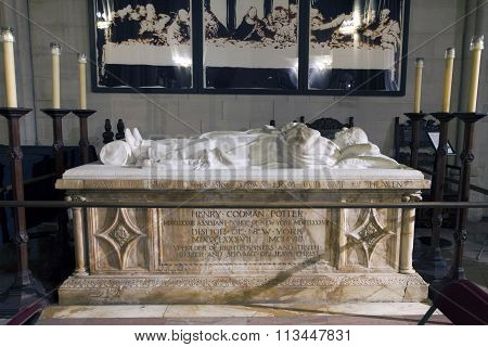 Tomb Of Assistant Bishop Henry Codman Potter