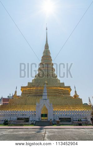 Wat Prathat Chaehang, Nan,Thailand