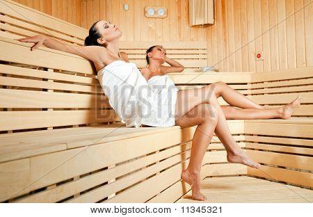 Females In Sauna