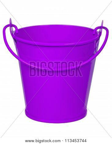 Empty Bucket - Violet