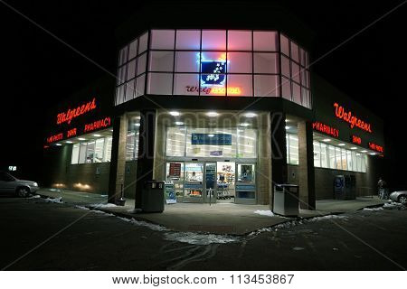 Walgreens at Night