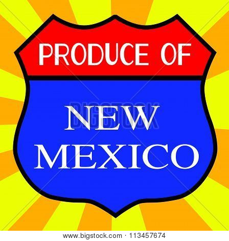 Produce Of New Mexico