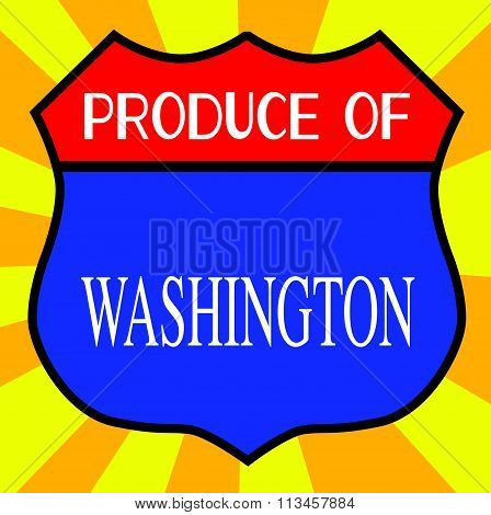 Produce Of Washington