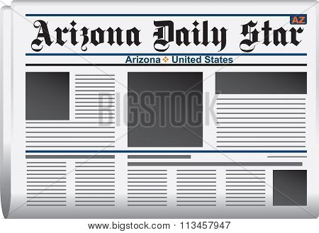 Newspaper Arizona Daily Star