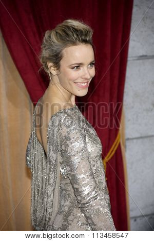 Rachel McAdams at the Los Angeles Premiere of