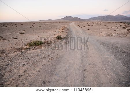 Countryside Desert Dirt Road
