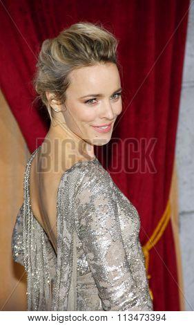 Rachel McAdams at the Los Angeles Premiere of
