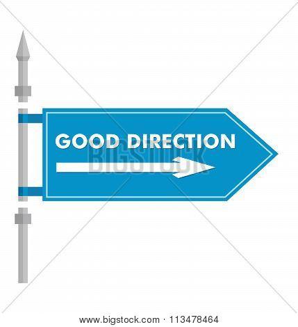 Flag Of God Direction.